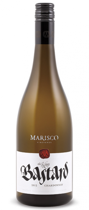 Marisco Vineyards The King's Bastard 2012 Chardonnay Bottle