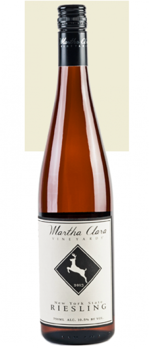 Martha Clara Vineyards 2013 Riesling Bottle