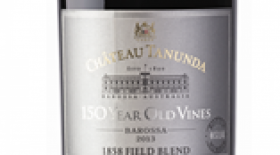 Chateau Tanunda 2015 '150 Year Old Vines' 1858 Field Blend Label