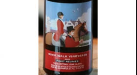 Duck Walk Vineyards 2012 Pinot Meunier Label