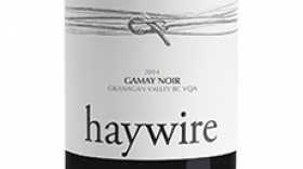 Haywire 2015 Gamay Noir Label