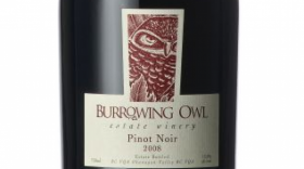 Burrowing Owl Estate Winery 2008 Pinot Noir Label