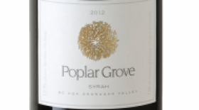 Poplar Grove Winery 2012 Syrah (Shiraz) | Red Wine