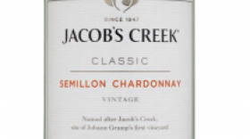 Jacob's Creek Classic 2015 Semillon Chardonnay Label