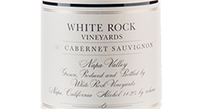 White Rock 2011 Cabernet Sauvignon Label
