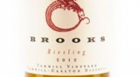 Brooks 2012 Riesling Label