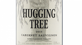 Hugging Tree Winery  2013 Cabernet Sauvignon Label