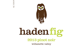 Haden Fig Pinot Noir WV Label