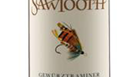 Sawtooth Classic Fly Series Gewurztraminer Label