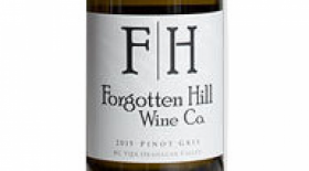 Forgotten Hill Wine Co. 2016 Pinot Gris Label