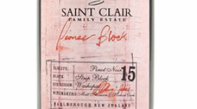 Saint Clair Family Estate Pioneer Block 15 Strip Block Pinot Noir 2016 | Red Wine