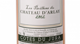 Chateau d'Arlay Cote du Jura Pavillons Rose 2014 Label