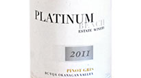 Platinum Bench Estate Winery & Artisan Bread Co. 2011 Pinot Gris (Grigio) Label