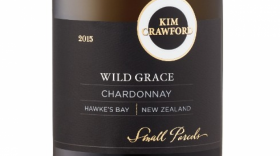 Kim Crawford Small Parcels Wild Grace Chardonnay Label