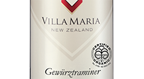 Private Bin Hawkes Bay Organic Gewürztraminer Label
