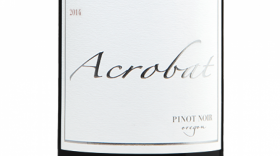 Acrobat 2014 Pinot Noir Oregon Label
