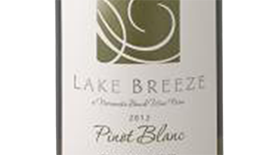 Lake Breeze Vineyards 2013 Pinot Blanc Label