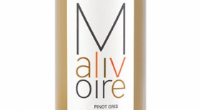 Malivoire Wine Co 2013 Pinot Gris (Grigio) Label