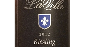 LaVelle 2012 Riesling Label