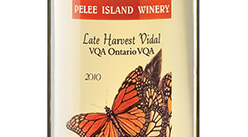 Late Harvest Vidal Label