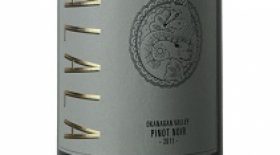 Kalala Organic Estate Winery 2015 Pinot Noir Label