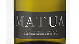 Single Vineyard Marlborough Riesling Label