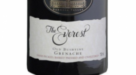 Chateau Tanunda 2012 The Everest Old Bush Vine Grenache Label