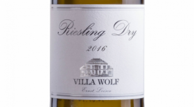 Villa Wolf 2016 Riesling Dry Label