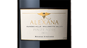 Revana Vineyard Pinot Noir Label