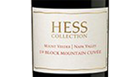 Hess Collection 19 Block Mountain Cuvée 2010 Label