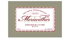 """Thomas Jefferson"" Prestige Cuvee Label"