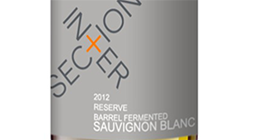 Barrel Ferment Sauvignon Blanc Label