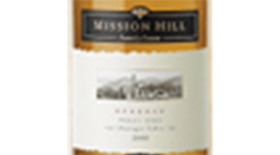 Mission Hill Reserve 2012 Pinot Gris Label