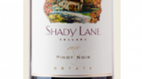 Shady Lane Cellars 2012 Pinot Noir Label