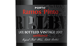 Ramos Pinto 2009 Terrior Platinum Late Bottled Vintage Label