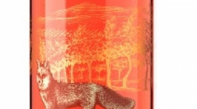 Indigenous World Winery 2017 Red Fox Rosé Label