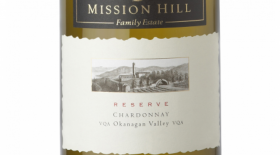 Mission Hill Reserve 2012 Chardonnay Label