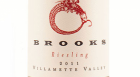 Brooks 2011 Riesling Label