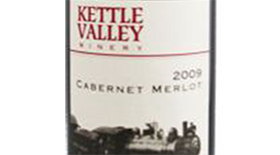 Kettle Valley Winery 2009 Cabernet/Merlot Blend Label