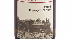 Kettle Valley Winery 2017 Pinot Gris (Grigio) Label