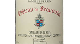 Chateau de Beaucastel 2012 Grenache blend Label