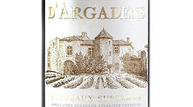 Château d'Argadens Red Bordeaux Label