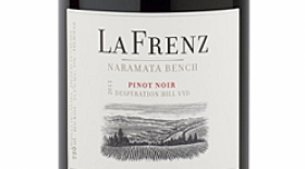 La Frenz 2016 Desperation Hill Pinot Noir Label