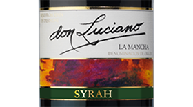 Don Luciano Syrah La Mancha Label