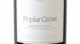 Poplar Grove Winery 2012 Cabernet Franc Label
