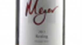 Meyer Family Vineyards 2013 Riesling Label