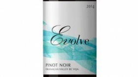 Evolve Cellars 2014 Pinot Noir Label
