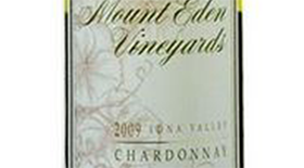 Mount Eden Vineyards 2009 Chardonnay Label