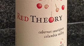 Red Theory Cabernet Sauvignon Label