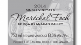 Little Straw Vineyards Estate 2014 Marechal Foch | Red Wine